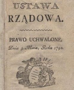 Constitution of the 3rd May 1791
